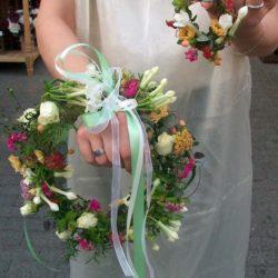 Hochzeitskränze - traditionell gebunden