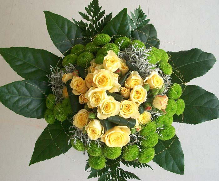Gelbe Rosen einmal anders