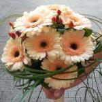 Brautstrauß in pastell-lachs