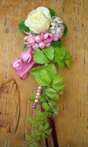 floraler anstecker zum abiball