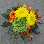 Farbenfroher Herbststrauß