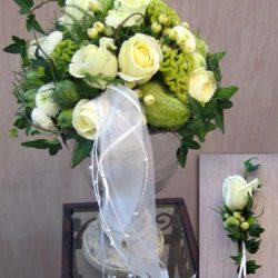 Brautstrauß für die Hochzeit im Herbst