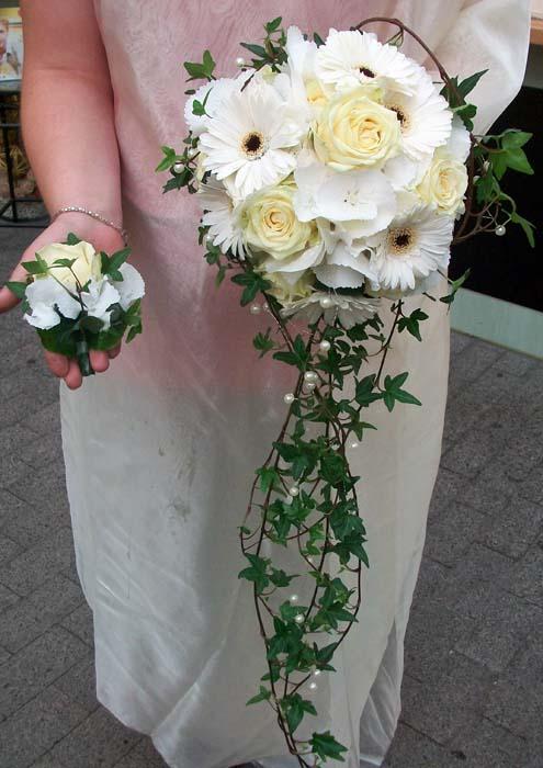 Hochzeit ganz in Weiß