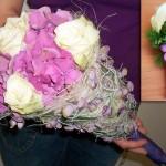 Brautstrauß - Zepterstrauß