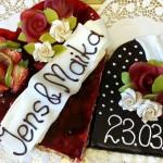 Hochzeitstorten - Bäckerei Krahl