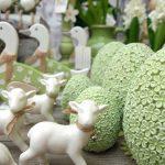 Keramikdeko Ostern