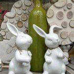 Osterhasen - Keramik