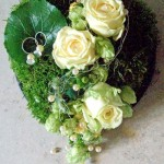 Florales Ringkissen