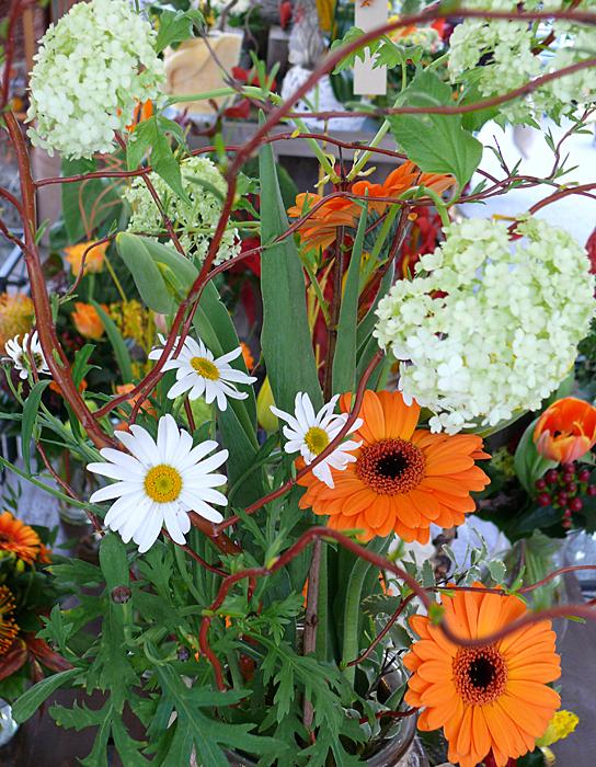 Floristik und kreative Blumensträuße