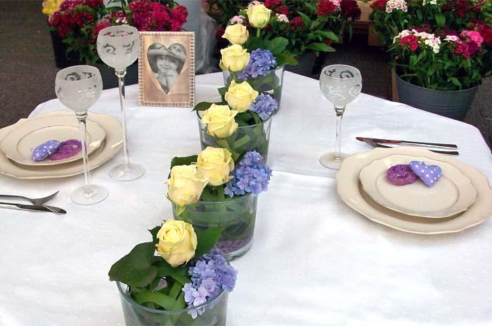 floraler tischschmuck g rtnerei dresden heidenau. Black Bedroom Furniture Sets. Home Design Ideas